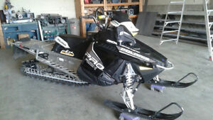 2013 Polaris PRO RMK with Boondocker turbo