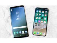 WANTED iPhone X 8 Plus 8 7 Plus 6s Plus Samsung s9 plus s9 s8 s8 Plus s7 note
