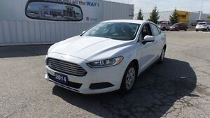 2014 Ford Fusion S, Bluetooth, PW, PL, Cruise