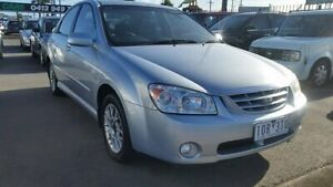 2005 Kia Cerato LD MY06 EX Blue 4 Speed Automatic Sedan Cheltenham Kingston Area Preview