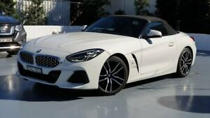 2019 BMW Z4 White Sports Automatic Roadster Sylvania Sutherland Area Preview