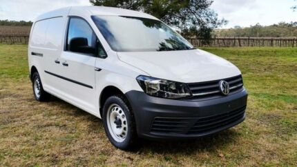 2017 Volkswagen Caddy 2KN MY17.5 TSI220 Maxi DSG Candy White 7 Speed Sports Automatic Dual Clutch Tanunda Barossa Area Preview