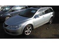 Mazda 6 (silver) 2004