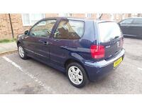 VW POLO 1.4 16V AUTOMATIC VERY GOOD CONDITION MOT BARGAIN