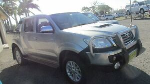 2013 Toyota Hilux KUN26R MY12 SR5 Double Cab Gold 4 Speed Automatic Utility Mackay Mackay City Preview