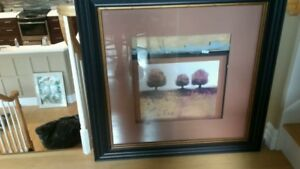 Large brown Picture frame