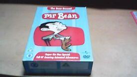 MR BEAN 6 x DVD BOXSET, THE COMPLETE ANIMATED ADVENTURES.