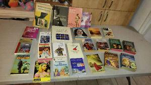 42 romans,18 revue décorations,livre échec,3 biographie,faune