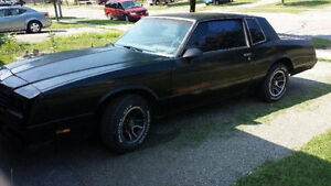 1981-88 G BODY MONTE CARLO SS FULL SET OF GLASS (5 PCS) DARKTINT