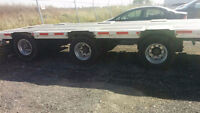 Lode King Step Deck Low Profile w/rear lift axle. LEASE TAKEOVER