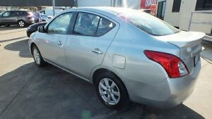 2012 Nissan Almera N17 TI Silver 4 Speed Automatic Sedan Townsville Townsville City Preview