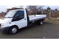 Ford transit 115 t350l rwd 2011/11 moted 1 owner from new full service history lwb drop side pick up