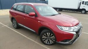 2018 Mitsubishi Outlander ZL MY18.5 ES 2WD Red Metallic 6 Speed Constant Variable Wagon Bassendean Bassendean Area Preview