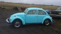 1974 VW Beetle--Winter Project--Not Running