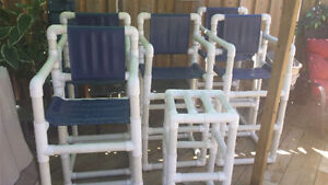 Pool chairs for sale good for out side bars