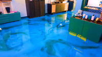 PROFESSIONAL EPOXY FLOORING INSTALLATION - SPRING SPECIAL!