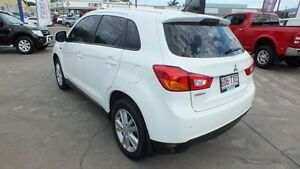 2014 Mitsubishi ASX XB MY15 LS 2WD White 5 Speed Manual Wagon Townsville Townsville City Preview