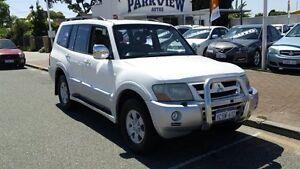 2003 Mitsubishi Pajero Exceed White 5 Speed Automatic Wagon Victoria Park Victoria Park Area Preview