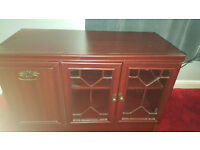 Free to collector - Nice wooden entertainment unit - Excellent condition - Must Go ASAP!