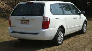2013 Kia Grand Carnival VQ MY13 S White 6 Speed Sports Automatic Wagon