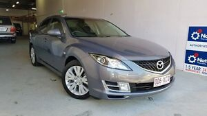 2008 Mazda 6 GH1051 Classic Grey Metallic 5 Speed Sports Automatic Sedan Virginia Brisbane North East Preview