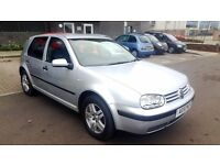 2003 VOLKSWAGEN GOLF 1.6 16V MANUAL VERY GOOD CONDITION LOW MILEAGE 85000 MIL SERVICE HISTORY