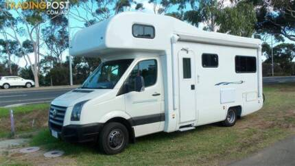 2010 VW CRAFTER MOTOR HOME