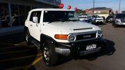 2013 Toyota FJ Cruiser GSJ15R White 5 Speed Automatic Wagon Blair Athol Port Adelaide Area Preview