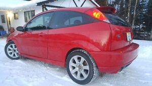 2002 Ford Focus SVT Hatchback