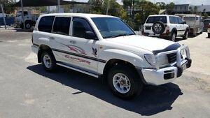 1998 Toyota Landcruiser HZJ105R (4x4) White 5 Speed Manual 4x4 Wagon Varsity Lakes Gold Coast South Preview