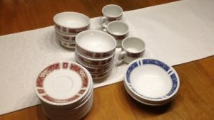 English Vintage Hotelware Dishes