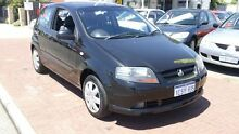 2006 Holden Barina  Black 5 Speed Manual Hatchback Victoria Park Victoria Park Area Preview