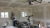Mudding Taping Drywall Texture or T Bar ceiling Framing ect