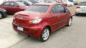 2007 Mitsubishi Colt RZ MY07 Turbo Red 5 Speed Manual Cabriolet Victoria Park Victoria Park Area Preview
