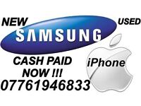 Wanted iPhone & Samsung Working OR Cracked/Smashed CASH PAID NOW
