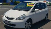 2006 Honda Jazz GD MY05 GLi White 1 Speed Constant Variable Hatchback Bungalow Cairns City Preview