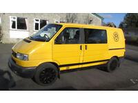 VW T4 camper, ex-AA