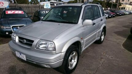 2000 Suzuki Grand Vitara Limited Edition (4x4) Silver 5 Speed Manual Wagon Maidstone Maribyrnong Area Preview