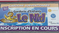 7.30$ GARDERIE CHOMEDEY LAVAL DAYCARE SPOT PLACE DISPONIBLE
