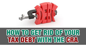 ARE YOU IN DEBT TO THE CRA? Lets Cut That Debt Down Today! Kitchener / Waterloo Kitchener Area image 1