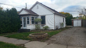 2 Bedroom house with detched Garage