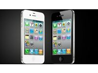 APPLE IPHONE 4S 16GB UNLOCKED MINT CONDITION COMES WITH WARRANTY & RECEIPT