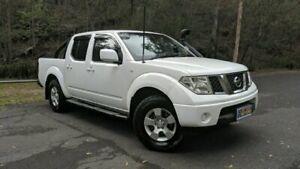 2011 Nissan Navara D40 MY11 ST White Manual Utility Springwood Logan Area Preview