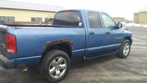 2004 DODGE RAM QUADCAB 4X4 LARAMIE HEMI LOADED $3000 FIRM