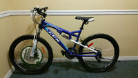 **SALE** - Full suspension mountain bike with disc brake
