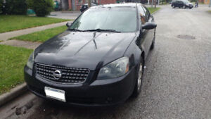 2005 Nissan Altima 2.5-1700 Firm. Bought new car. Need gone ASAP
