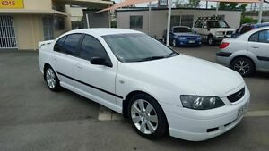 2005 Ford Falcon BA MkII SR White 4 Speed Auto Seq Sportshift Sedan Coopers Plains Brisbane South West Preview
