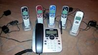 Uniden Cordless 6 Phone Set