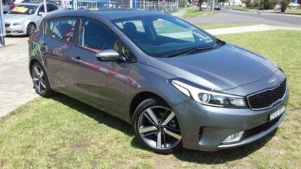 2017 Kia Cerato YD MY18 Sport Grey 6 Speed Auto Seq Sportshift Hatchback Dapto Wollongong Area Preview
