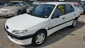 1997 Peugeot 306 N5 XR White 4 Speed Automatic Sedan Maidstone Maribyrnong Area Preview